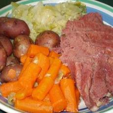 Crock Pot New England Boiled Dinner